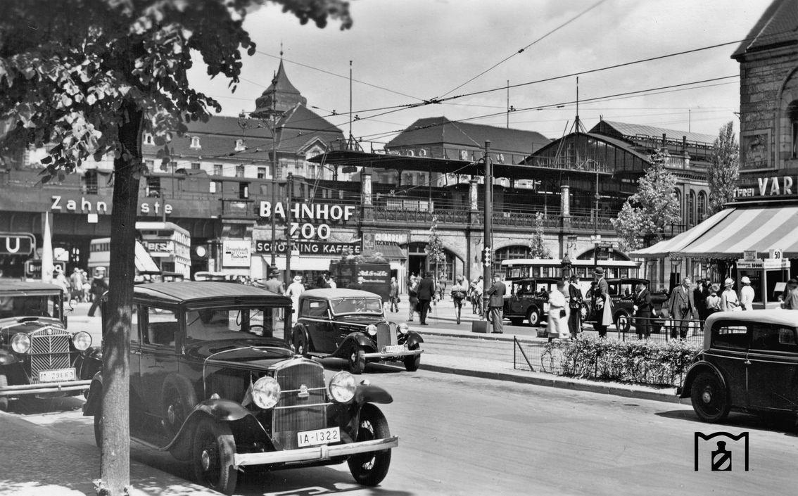 Bahnhof Zoologischer Garten In Den 30ern Historische Fotos Zoologischer Garten Berlin