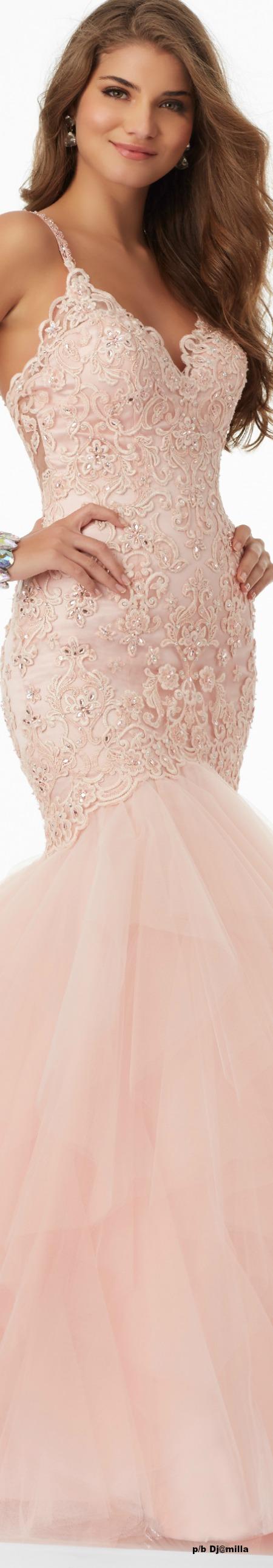 Morilee by Madeline Gardner | Moda con glamour en color rosa claro ...