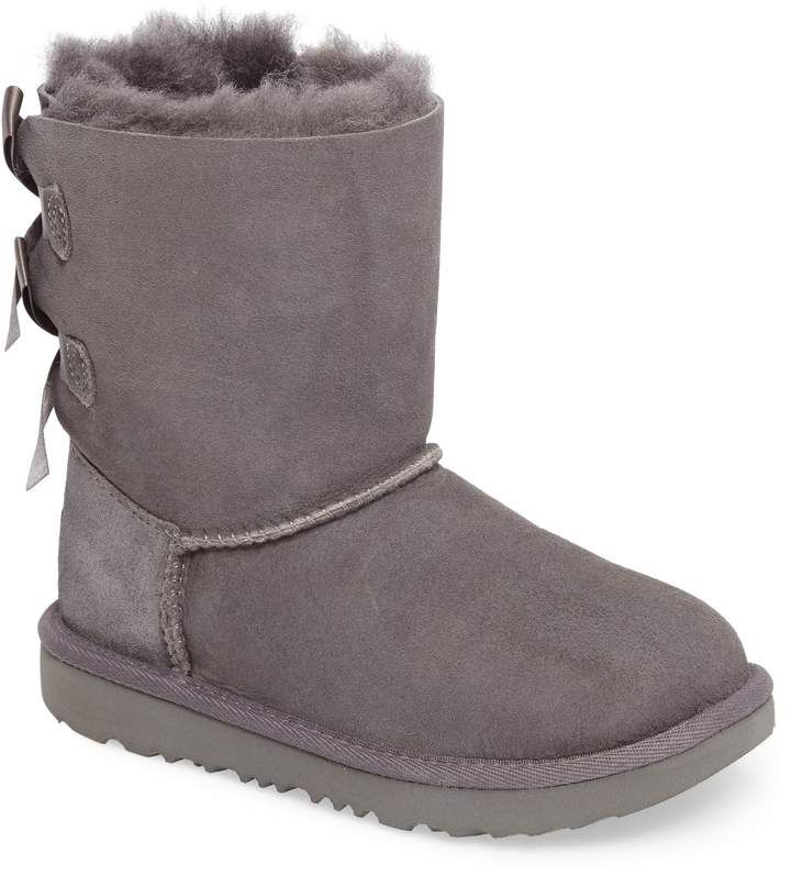 b7a609a0e71 Girl's Ugg Bailey Bow Ii Water Resistant Genuine Shearling Boot ...