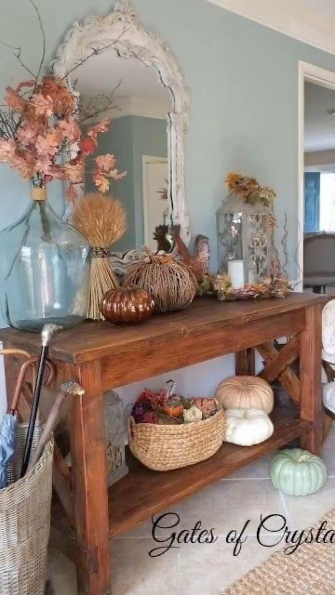 Table Décor - Nature Arrangement Idea