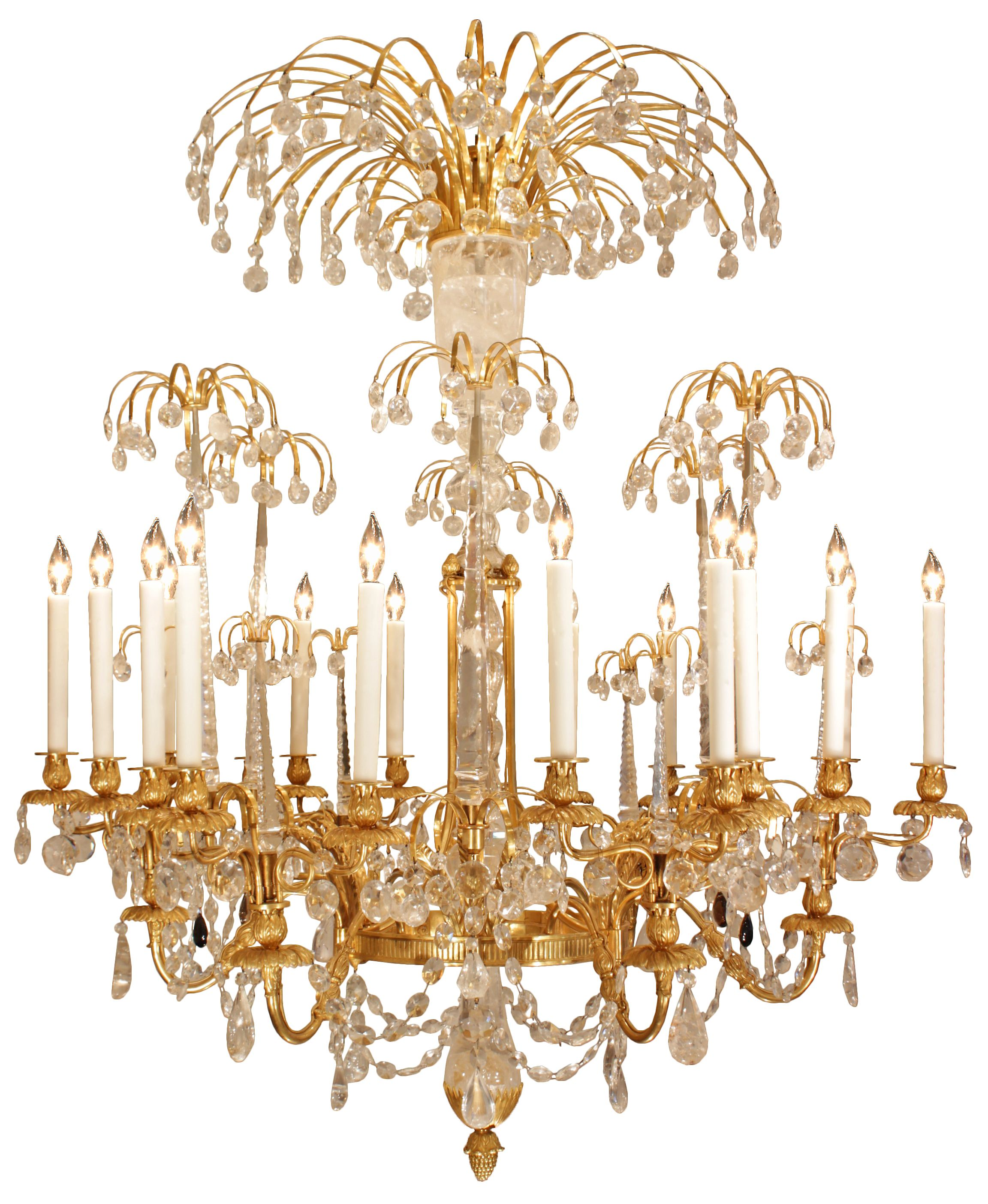 An extraordinary and spectacular late 18th early 19th century for sale on an extraordinary and spectacular late early century russian imperial neo classical st ormolu and rock crystal chandelier possibly attributed arubaitofo Image collections
