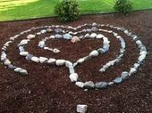 friend Seraphinas beautiful labyrinth in her back yard Hello everyone    My friend Seraphinas beautiful labyrinth in her back yard Hello everyone  My friend Seraphinas be...