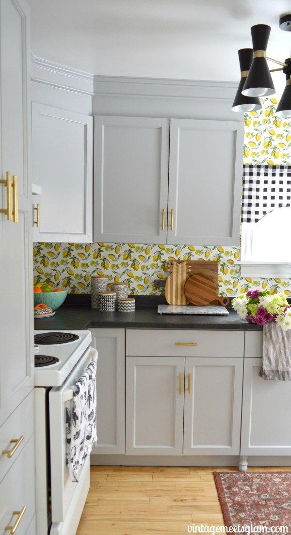 Best Kitchen Reno Final Reveal Kitchen Cabinets Refacing 400 x 300