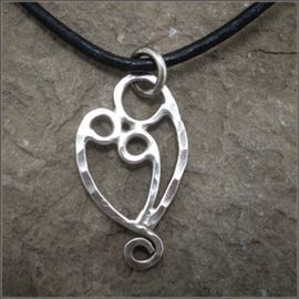 Sterling mother two child necklacependant jewelry pinterest sterling mother two child necklacependant aloadofball Image collections