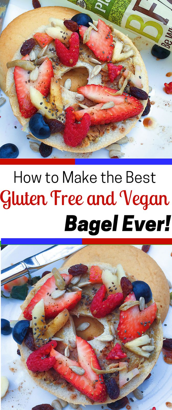 Berry Ful Gluten Free And Vegan Bagels Allergy Friendly