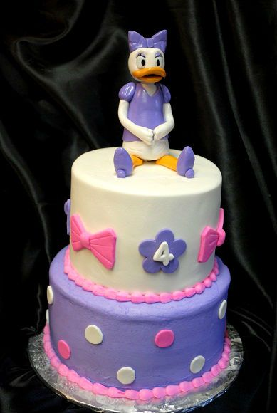 Remarkable Daisy Duck Cake Daisy Duck Cake Duck Cake Daisy Duck Party Personalised Birthday Cards Paralily Jamesorg