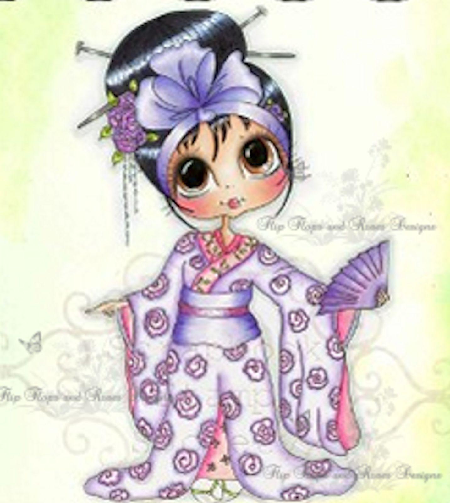 My Besties Clear Cling Stamp Cherry Blossom Knutselen Met Papier Kaarten Afbeeldingen