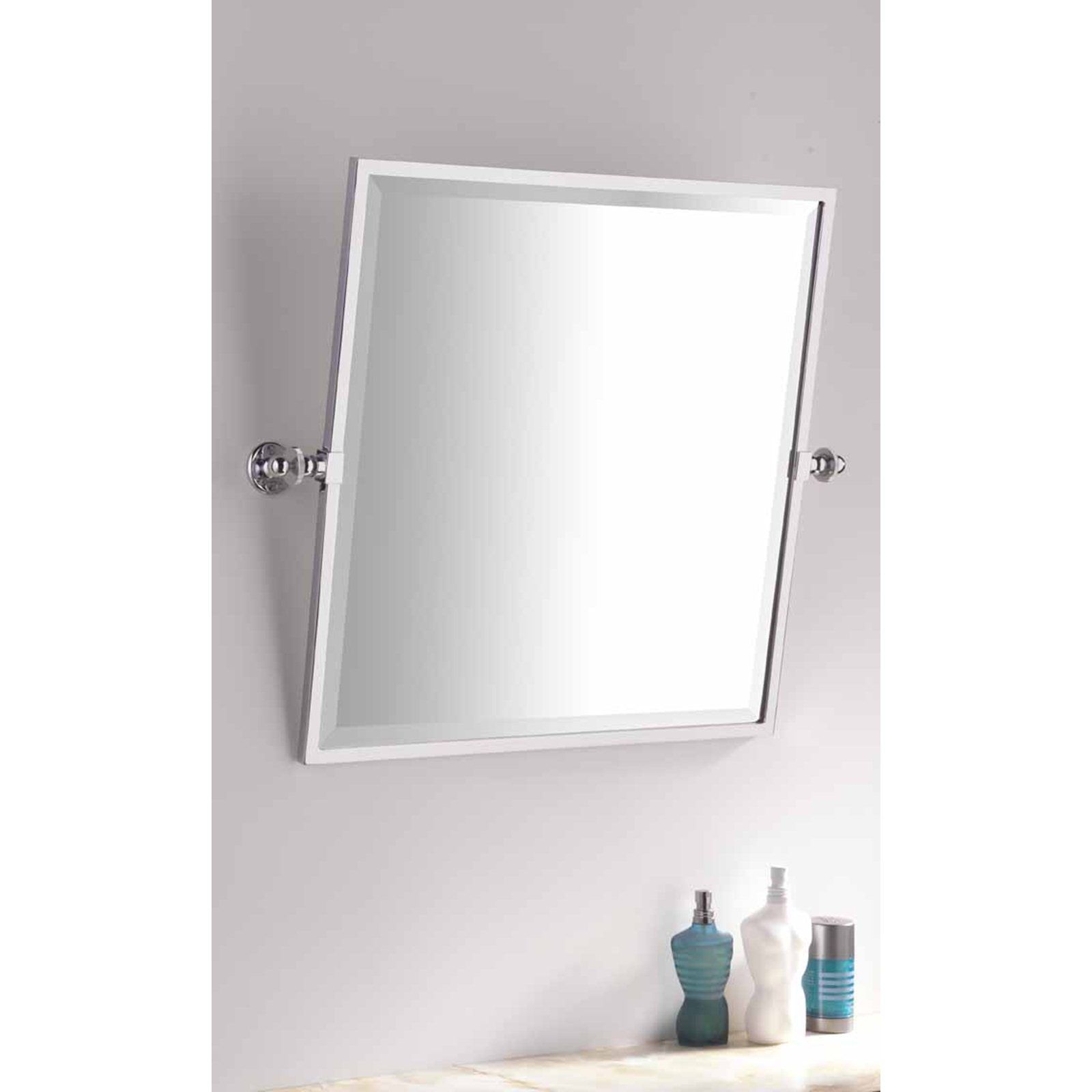Bathroom Cabinets Pivot Mirrors For Bathroom Bracket Brushed with ...