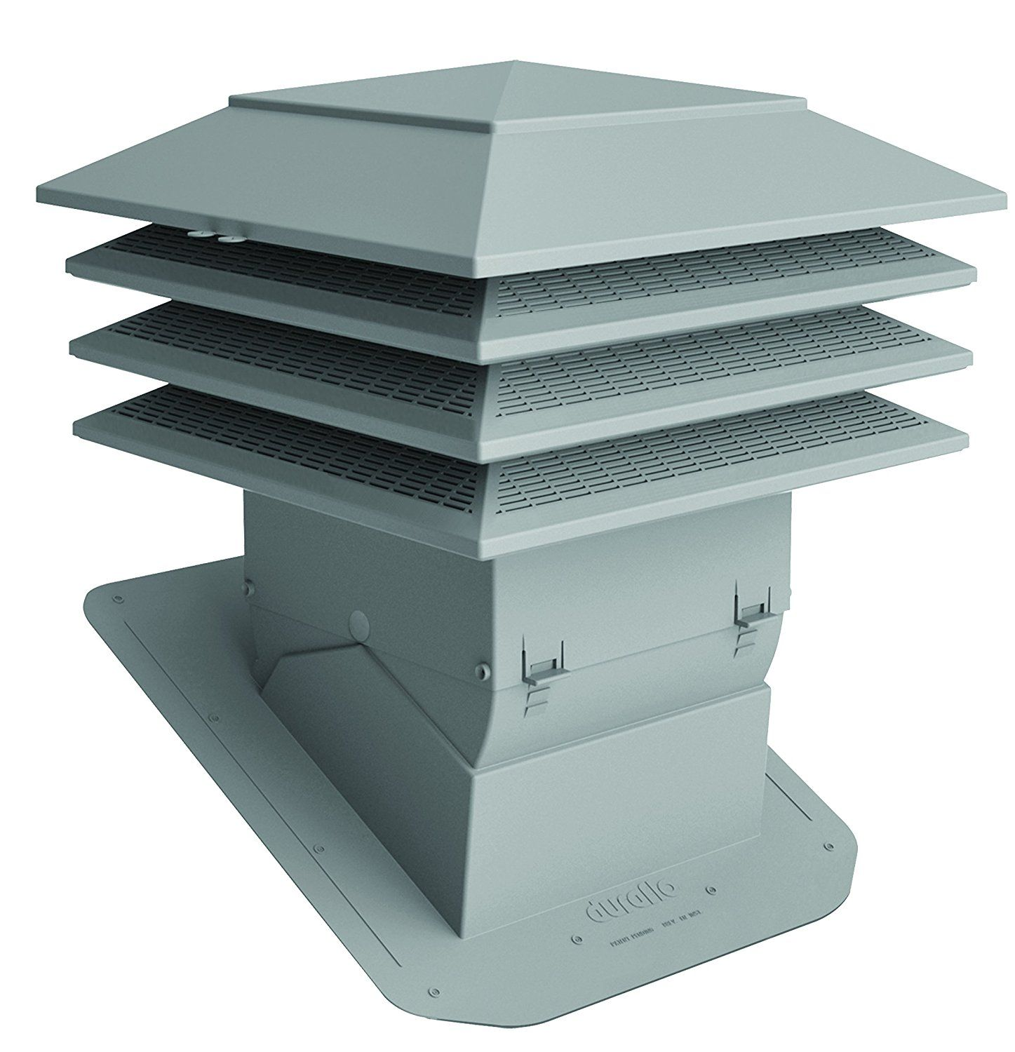 Duraflo 60pro150g Weatherpro Proventilator Grey Learn More By Visiting The Image Link Chimney Cap Roof Vents Grey