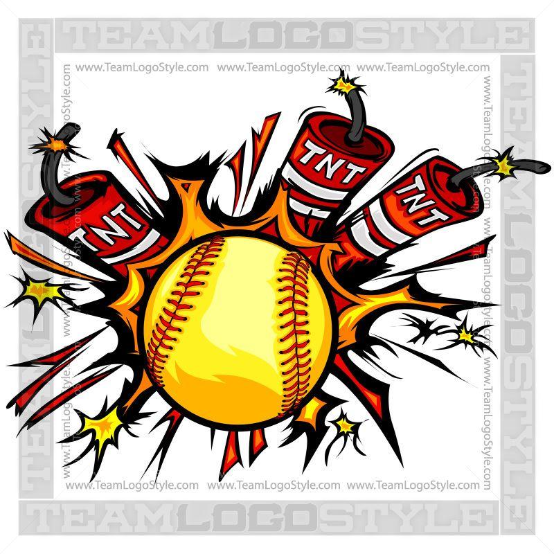 Dynamite Softball Logo Softball logos, Softball