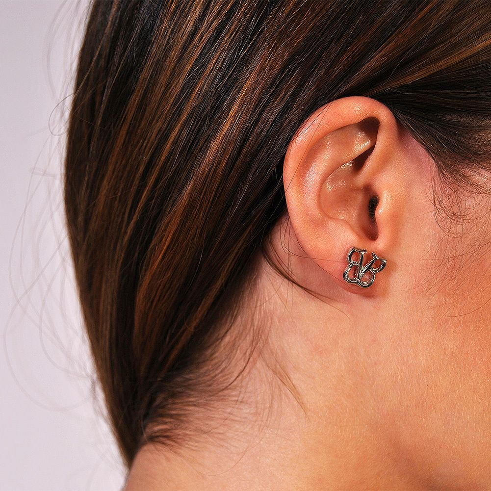 These Are Adorable :3 Black Veil Brides  Bvb Stud Earrings, $995 (http