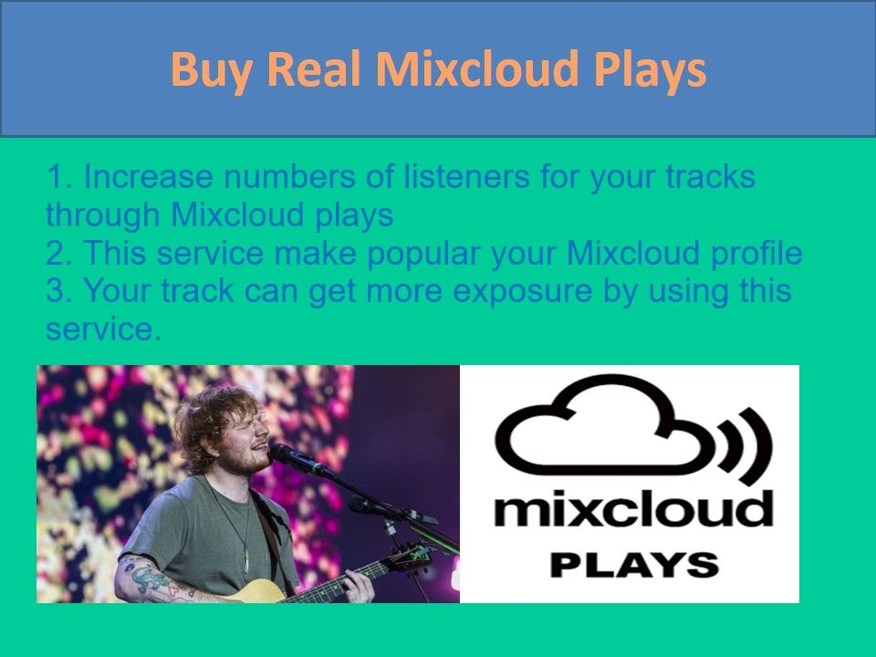 Do you want to get real plays of your tracks on Mixcloud