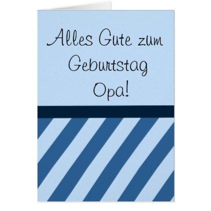 Alles Gute Zum Geburtstag Opa Karte Card Black Gifts Unique Cool