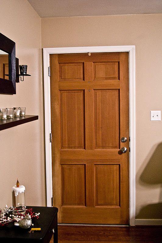 Turning The Door White Wooden Doors Interior
