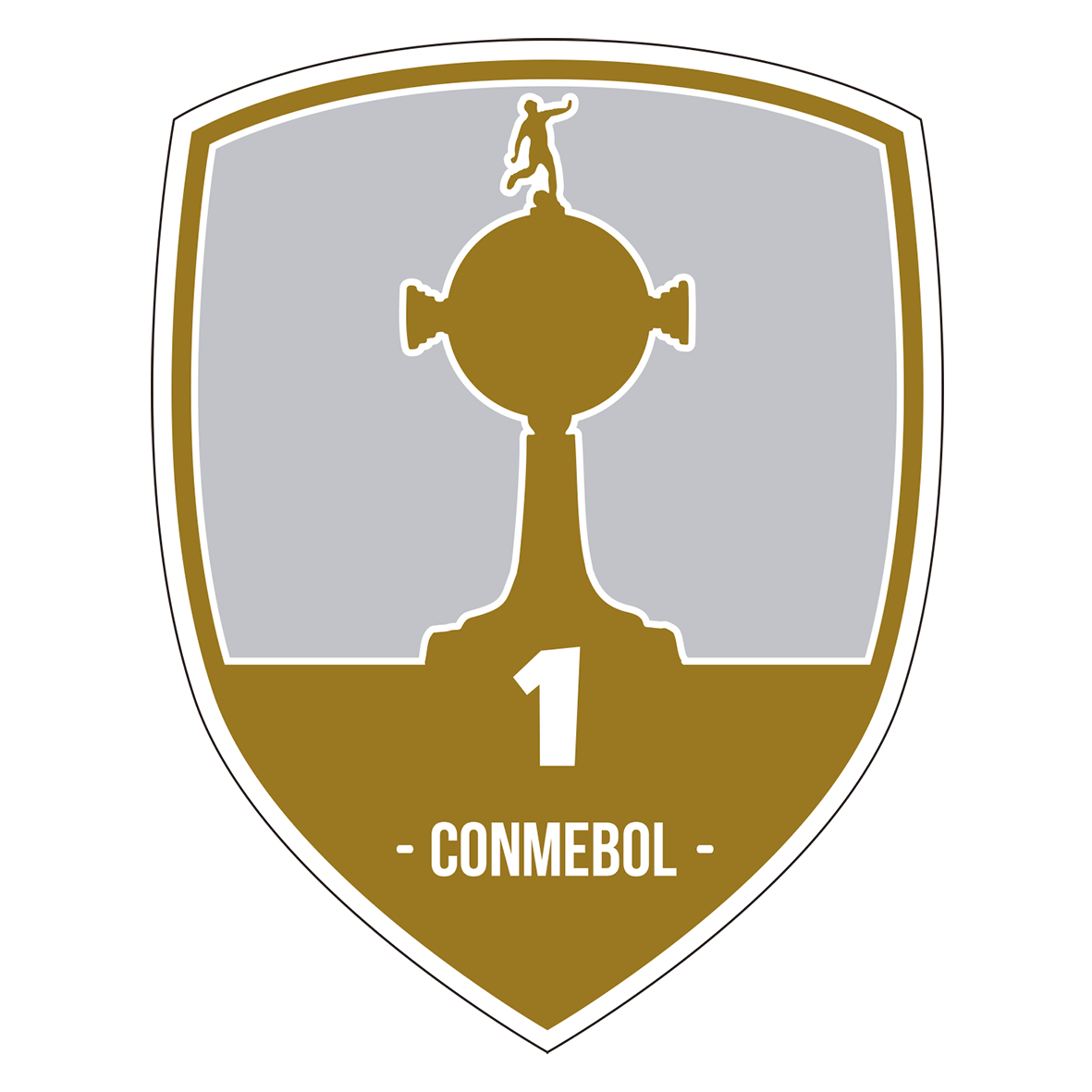 CONMEBOL Copa Libertadores Winners' Jersey Patch Clubes