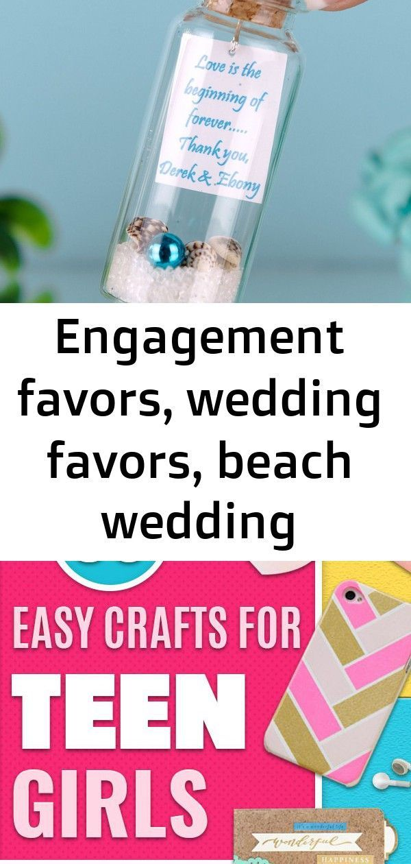 Engagement favors wedding favors beach wedding invitations bridal shower favors message in a botbeach