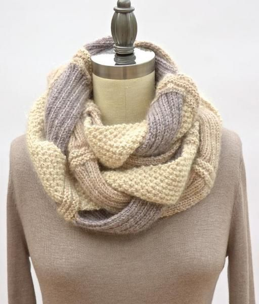 Challah Infinity Scarf Challah Knit Patterns And Infinity