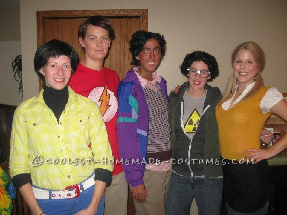 Original All-Female Group Halloween Costume Idea The Big Bang Theory!  sc 1 st  Pinterest & Original All-Female Group Halloween Costume Idea: The Big Bang ...