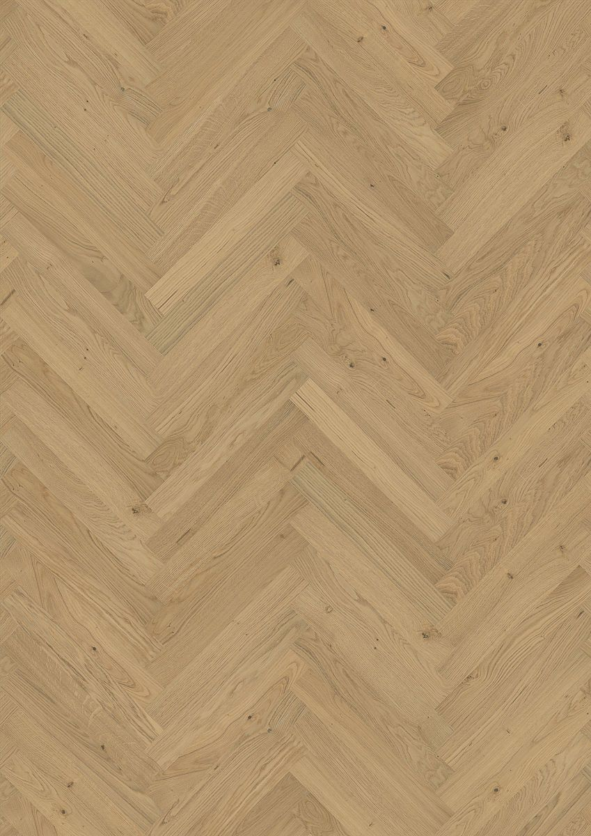 Kahrs Oak Herringbone Ab Natural Engineered Wood Flooring