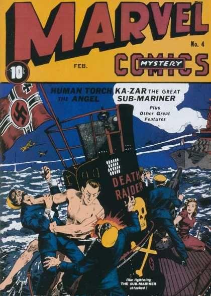 Marvel Mystery Comics 4 Golden Age Timely Marvel Comics