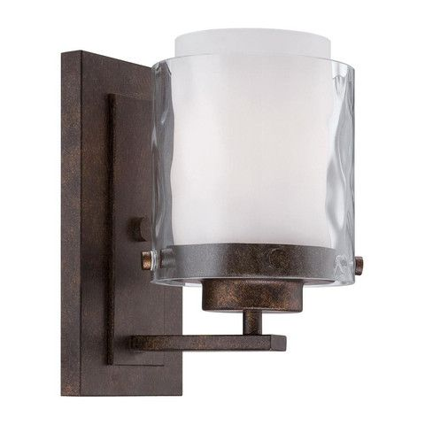 Overview Details Why We Love It Isn T This Sconce Striking With It S Clean Architectural Lines Hammered Bronze Wall Sconce Indoor Wall Sconces Sconces