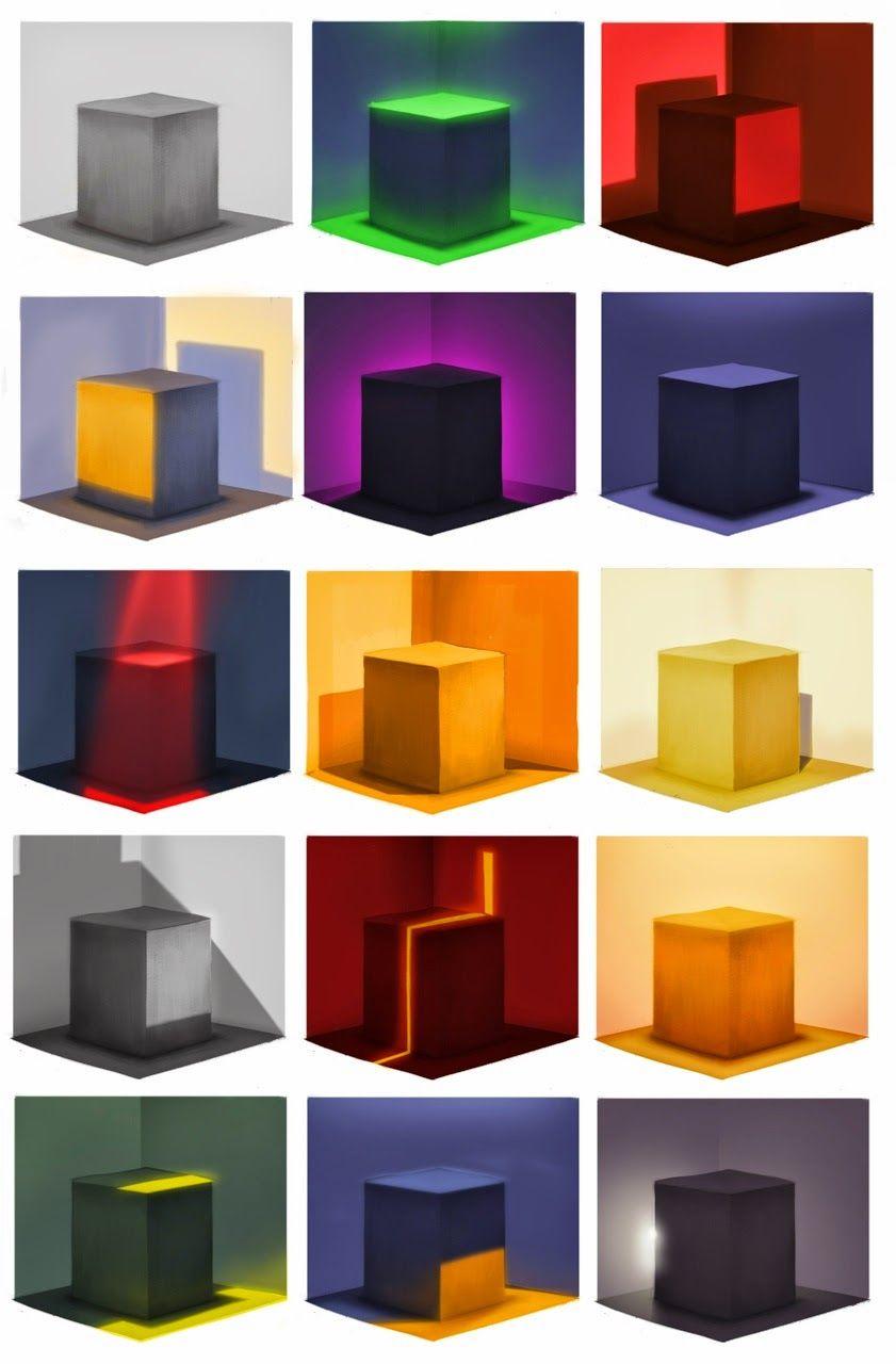 Arte La Luz Iluminacion En Edificios Luz Y Sombra Dibujo Tecnicas De Sombreado Circulo Cromatico De Colores