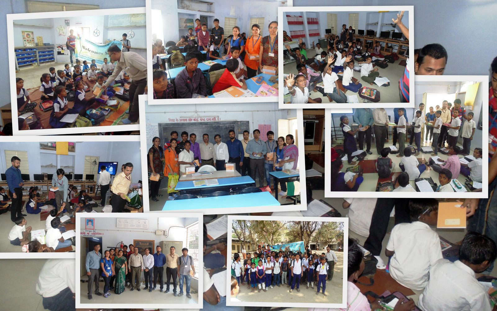 """""""Joy of Giving A Step Towards Educating Under Privileged"""
