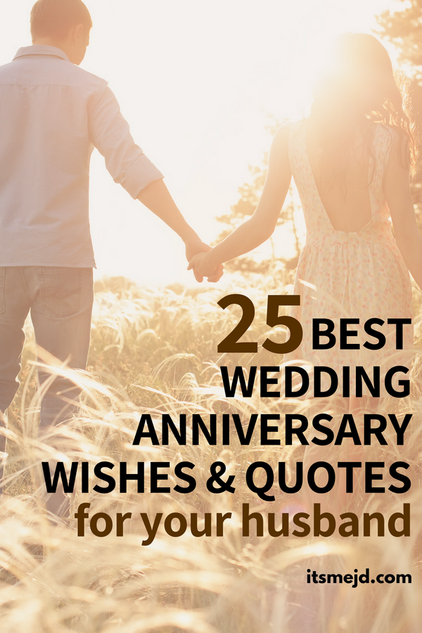 25 Best Wedding Anniversary Wishes & Quotes For Your