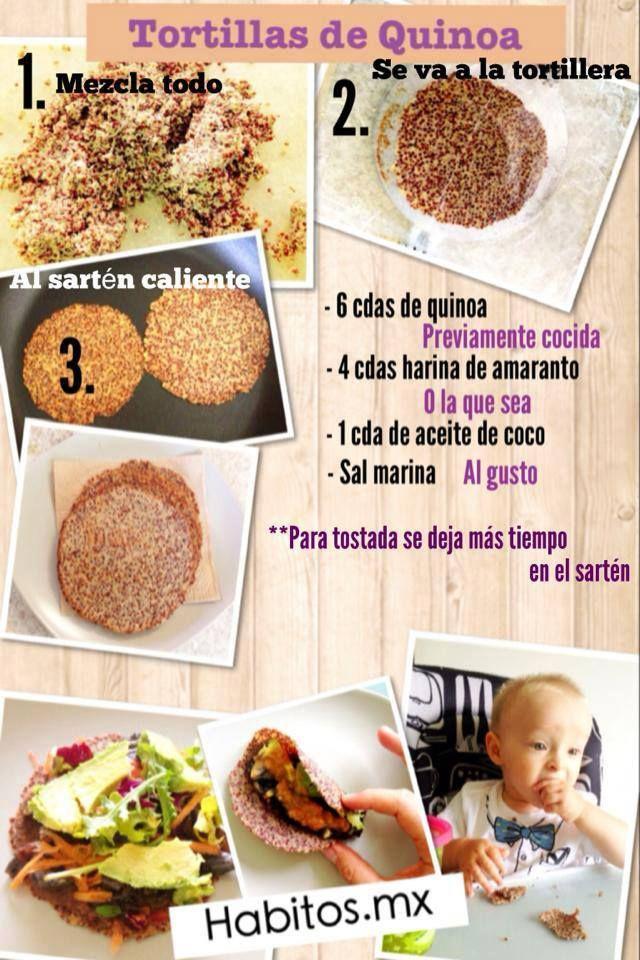 Hábitos Health Coaching | ¡Tortillas y tostadas de quinoa!
