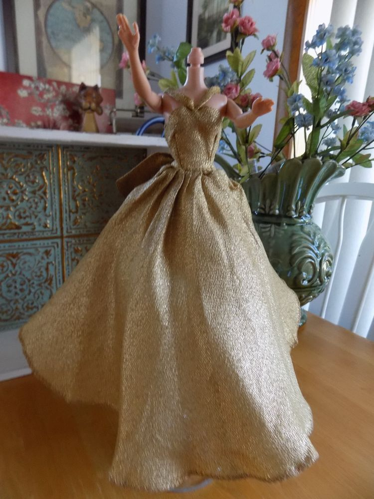 Vintage Barbie Halinas fashions from chicago ball gown