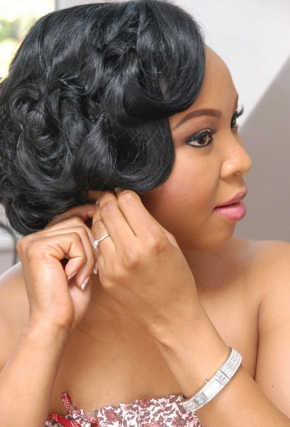 Wedding Hairstyles For Black Women Bridesmaid Hairstyles Brides