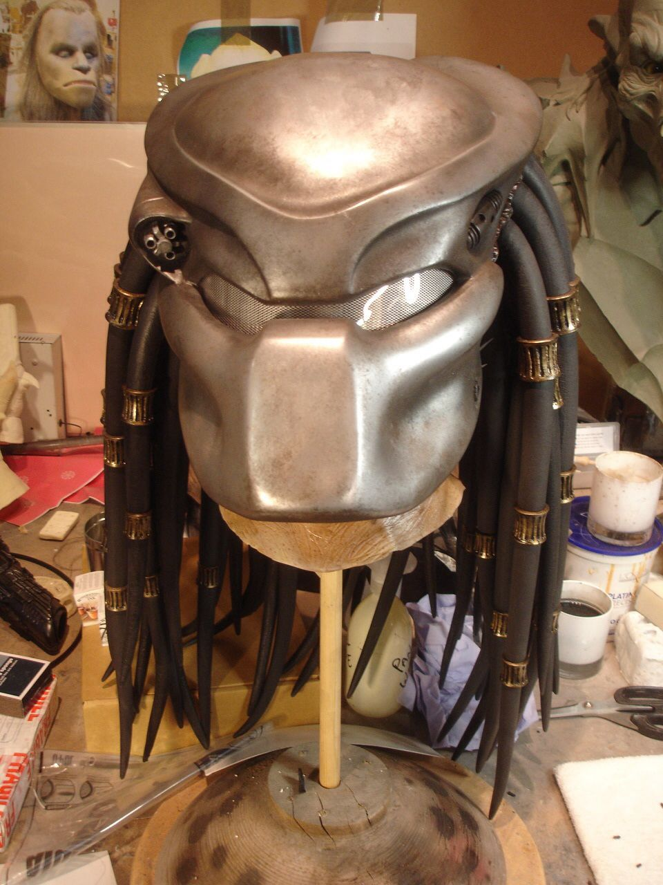 Light weight fibreglass Biomask for the Predator mask. This has ...