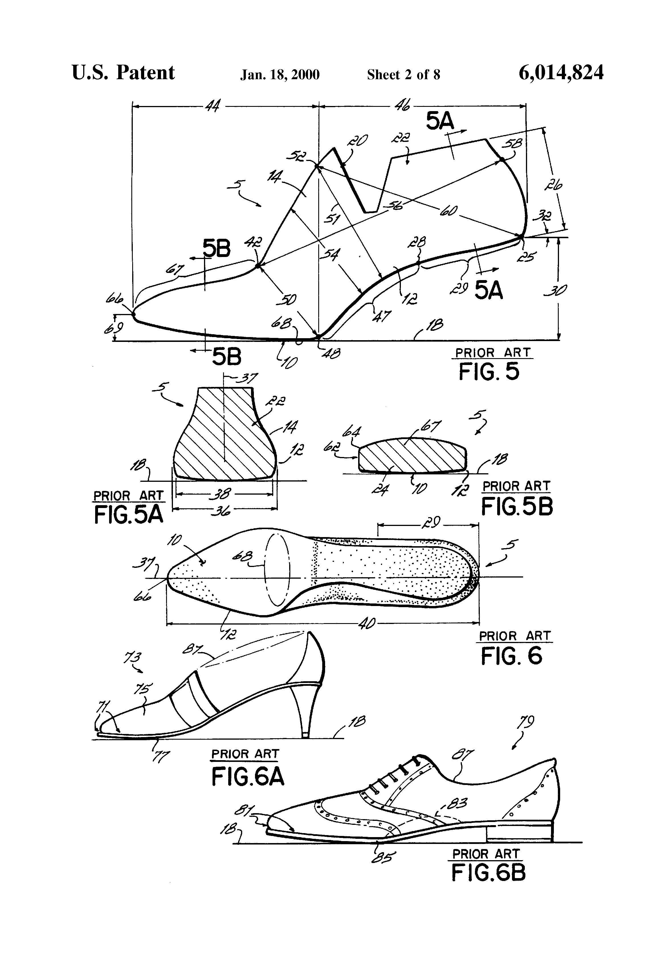 Shoe Last Shapes