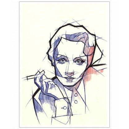 Marlene 1-Print unframed DIN Portrait - Gropius' Legacy - Don't miss - New In | Art. Everywhere.