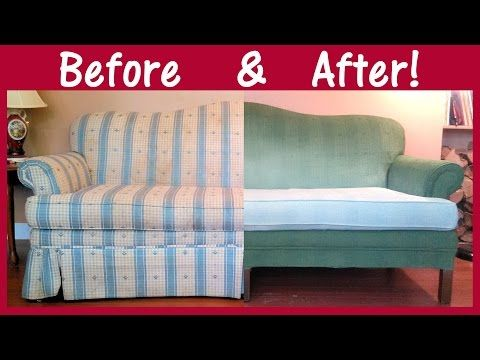 How To Paint A Couch Properly Step By Step X2f X2f Tips Amp Techniques Youtube Painted Couch Couch Fabric Furniture