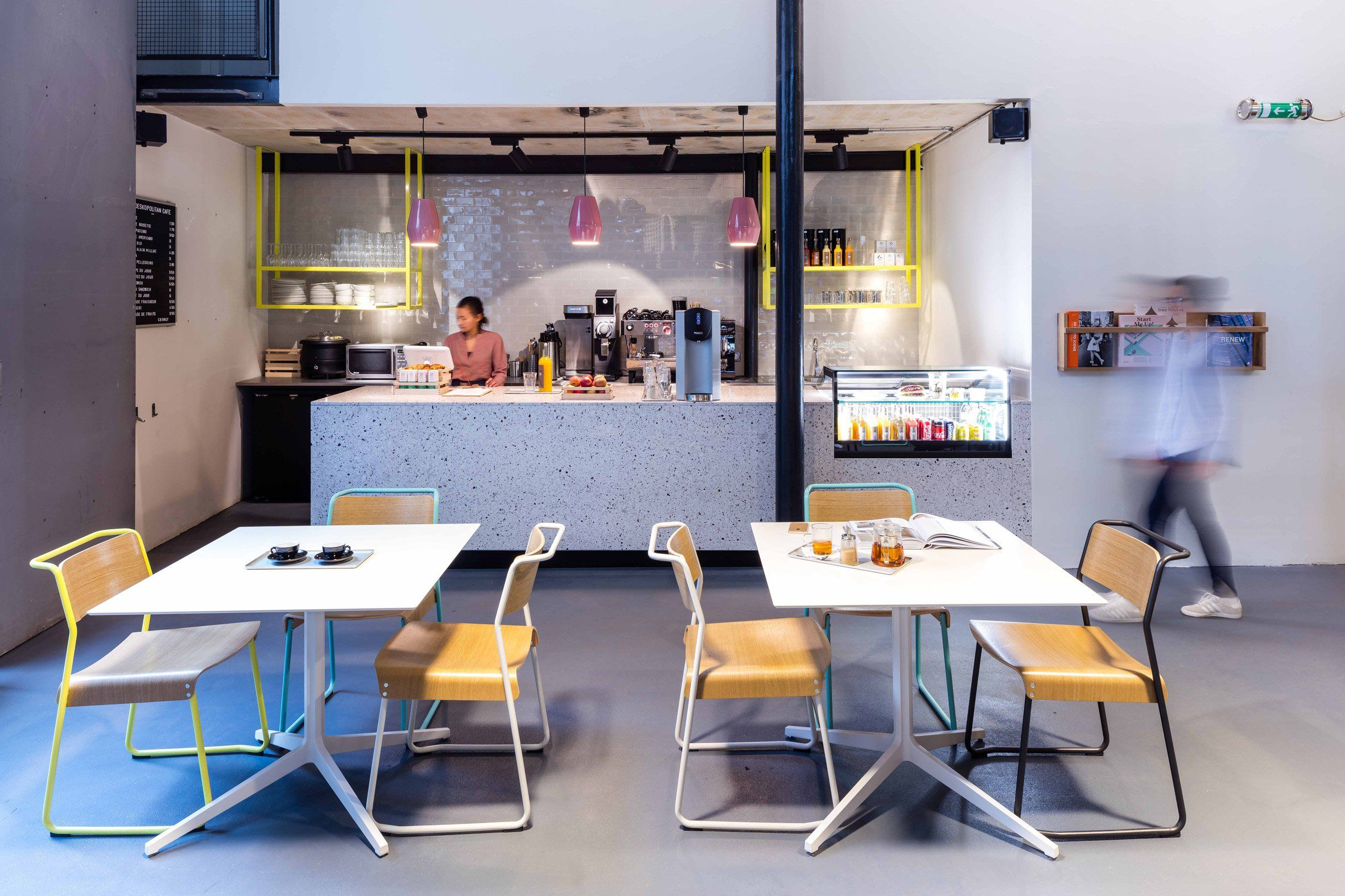 Moreysmith Create Co Working Offices In A Former Industrial Building In Paris Coworking Space Office Interior Design Design