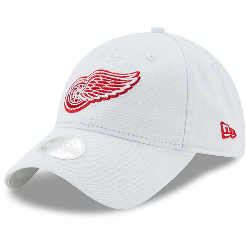 Detroit Red Wings New Era Women s Preferred Pick 9TWENTY Adjustable Hat -  White cbbf503f8