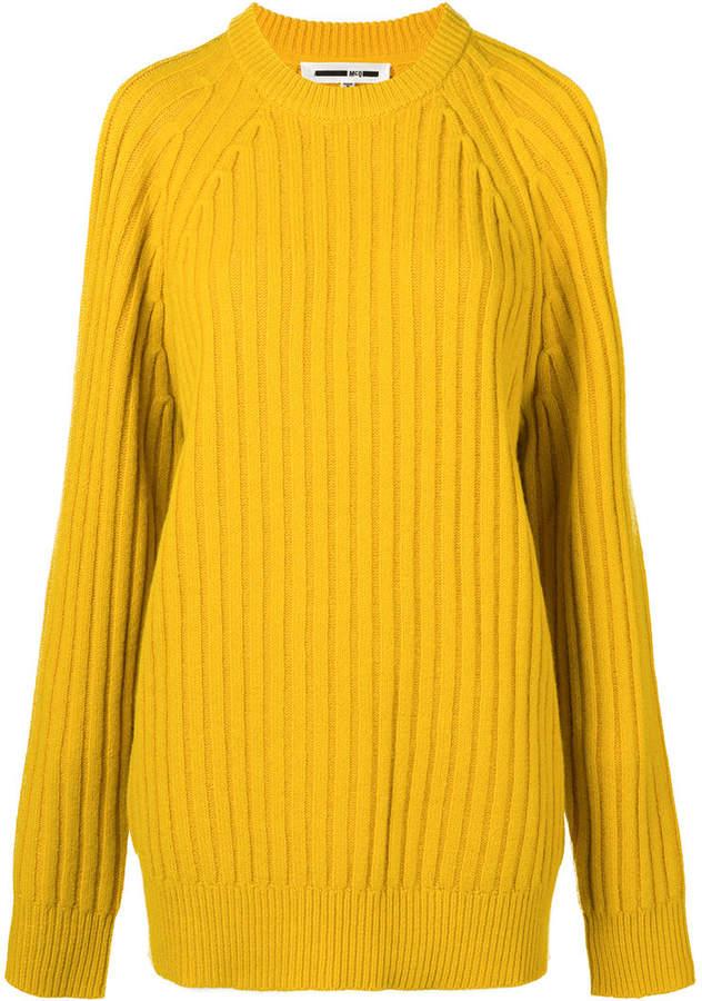 354706a4d377b7 McQ cut-out shoulder jumper | Woman's wear | Men sweater, Mcq ...