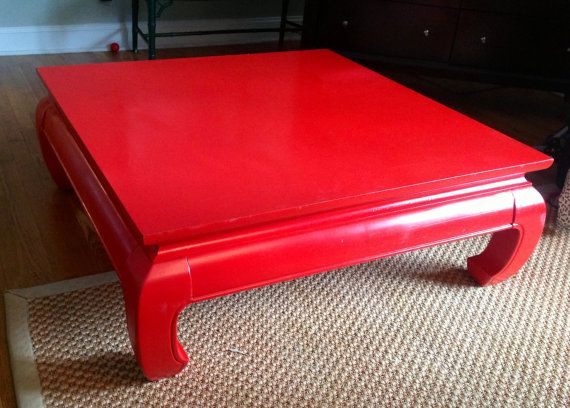Gorgeous Vintage Asian Coffee Table Barndoorhardware Com