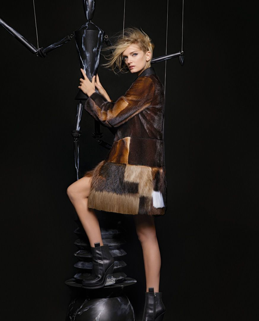 Watch Kendall Jenner Lily Donaldson for Fendi Fall 2015 Campaign video