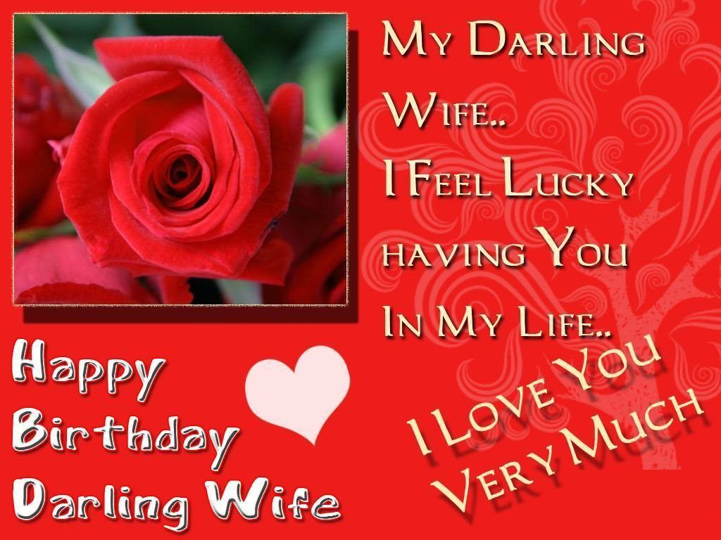 Happy Birthday Wishes Quotes Happy Birthday Wishes For Wife With Images Quotes And Messages .