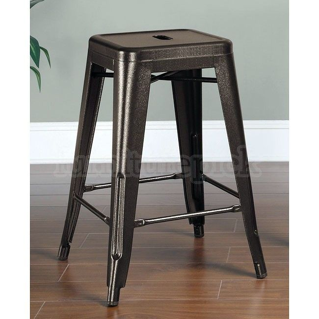 24 Inch Metal Bar Stools Pertaining To Residence Furniture