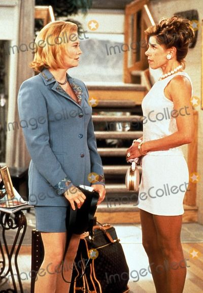Cybill Tv Stills Supplied by Globe Photos Inc. Christine Baranski and Cybill Shepherd