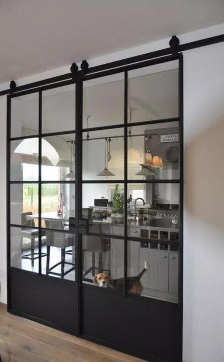 55 Incredible Barn Door Ideas Not Just For Farmhouse Style Glass Barn Doors Doors Interior Barn Door Designs