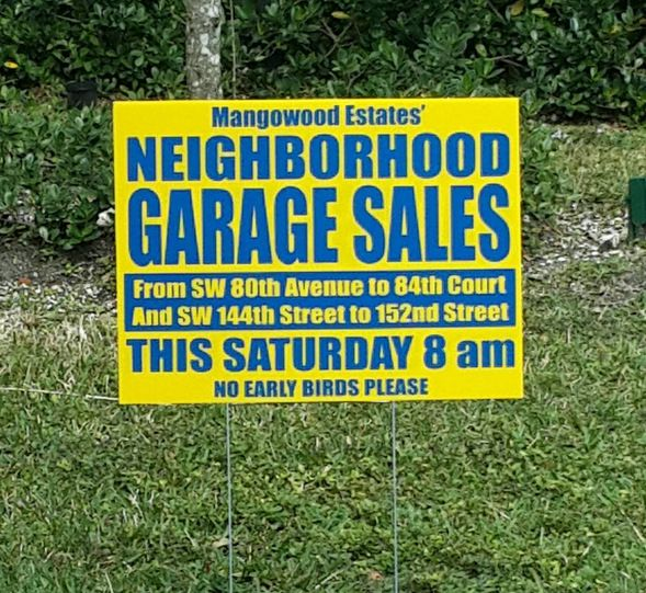 Affordable Yard Signs In Miami Are Here Yard Signs Yard