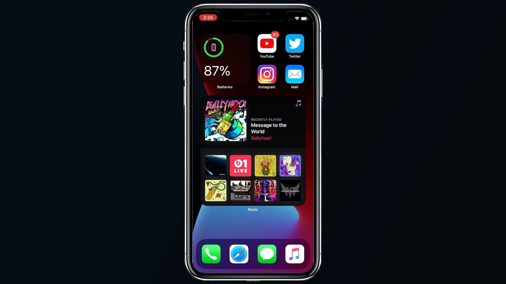 First Look See Ios 14 In Action With Home Screen Widgets App Library Subtle Call Alerts And More Macrumors In 2020 Call Alert Homescreen Widget
