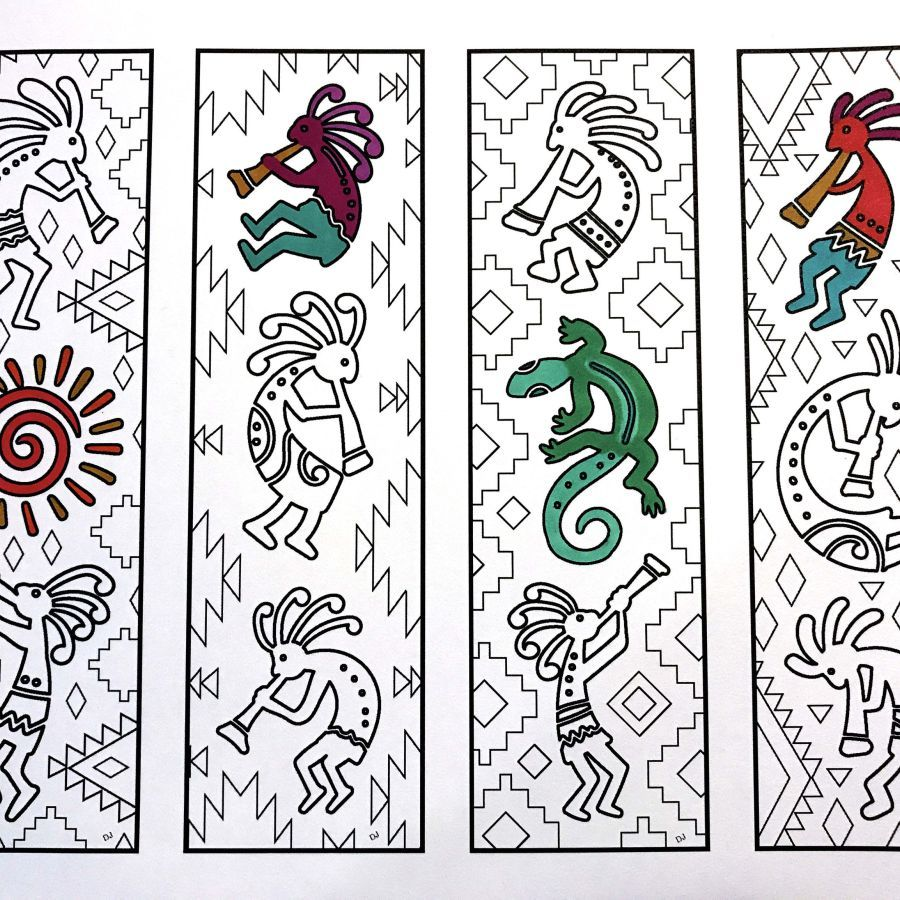 Bookmarks Page 4 Scribble Stitch Coloring Pages Coloring Bookmarks Feather Bookmark
