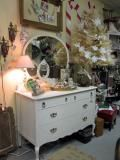 Shabby dresser with mirror