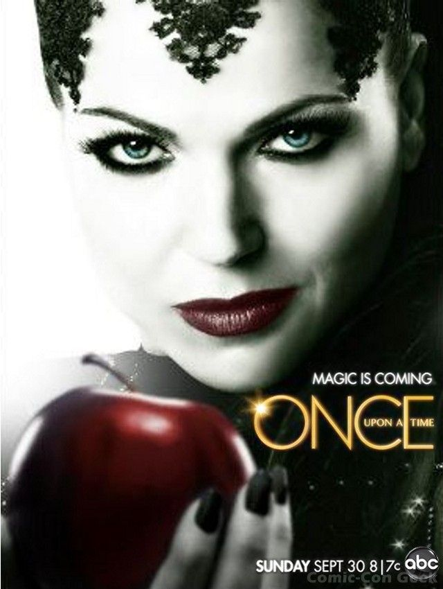 Season 2 Posters For Abc S Once Upon A Time Magic Is Coming
