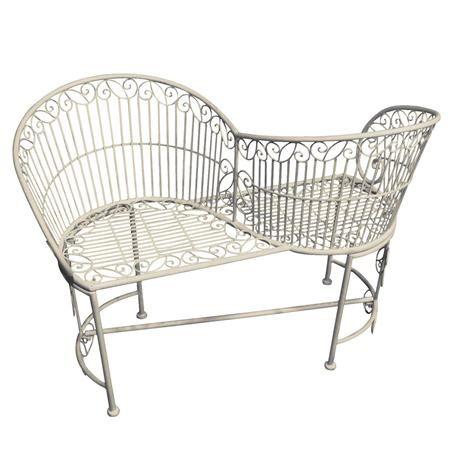 Esschert\'s Garden Old Rectory Love Seat. Achica.com | \